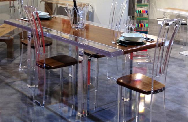 Arredamento in plexiglass metacrilato 100 italiano for Plexiglass arredamento