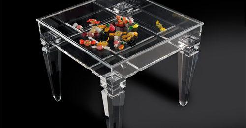 Tavolino in metacrilato 'Ricordami'