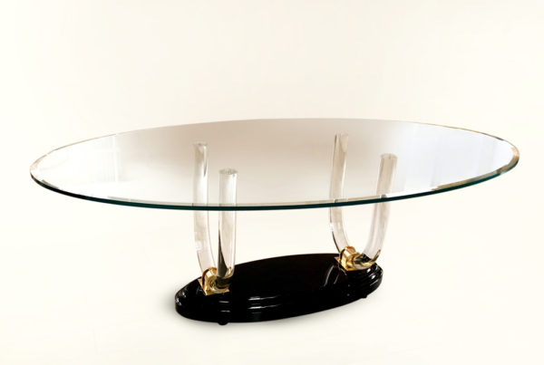 Poliedrica Plexiglas Table Ermitage