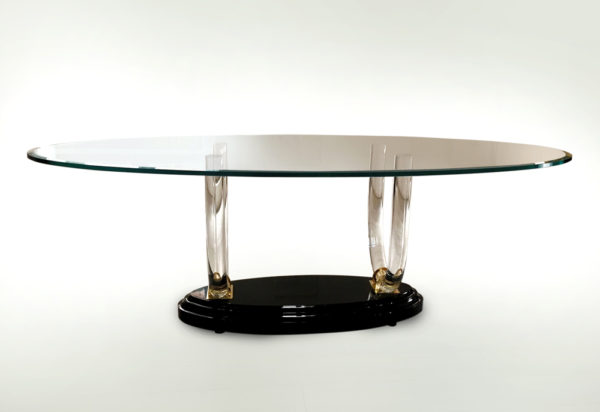 Poliedrica Plexiglass Table Ermitage