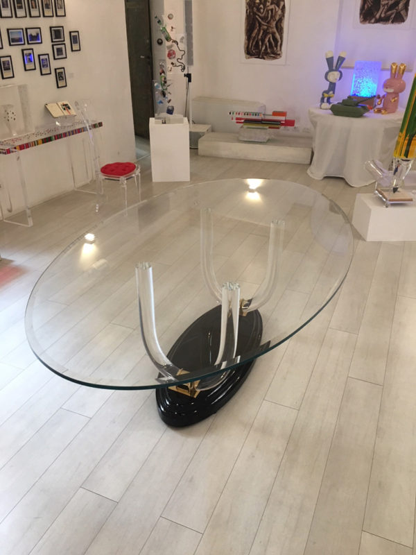 Poliedrica acrylic Table Ermitage
