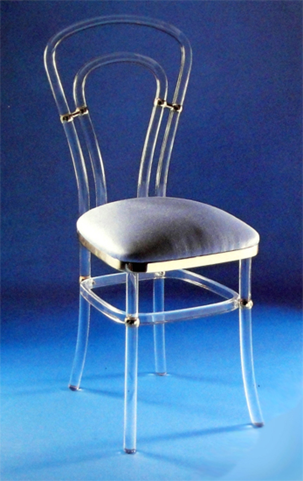 sedia in plexiglass 39 venezia 39 arredamento in plexiglass