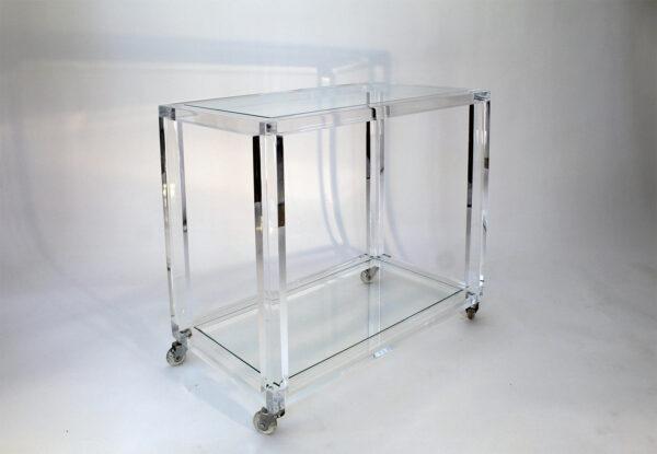 acrylic cart